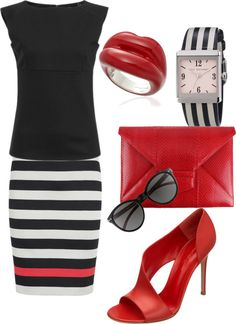 """""""I Don't Actually Wear Red..."""" by rachelle710 on Polyvore"""