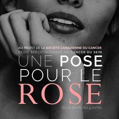 """Ce dimanche 9 avril. La grande séance """"Une Pose pour le Rose"""" avec djubox. Places disponibles (lien dans la bio)! #UnePosePourLeRose #RubanRose #TousPourUn #Montreal #djuBOX #Avril2017 #CollegeMarsan"""