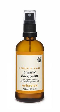 erbaviva Lemon & Sage Organic Deodorant