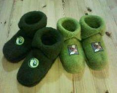 Tvillingtøfler Blogging, Baby Shoes, Slippers, Knitting, Crochet, Fashion, Moda, Sneakers, Tricot