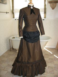 """Appaloosa"" inspired bustle dress | WillowsWeeds.com"