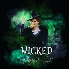 Wicked always wins #zelena