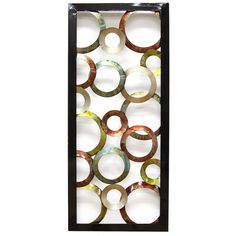 SHD0036-SH Circle Geo Panel Wall Decor by Stratton Home
