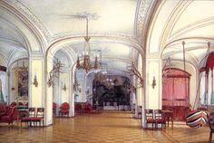 Э.П. Гау. Арсенальный зал Гатчинского дворца. 1876