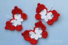 м Crochet Leaves, Knit Crochet, Crochet Earrings, Handmade Jewelry, Butterfly, Textiles, Baba Marta, Knitting, Flowers