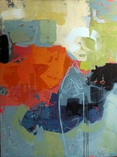 """Breaking Storm by Jacques Pilon, Acrylic on Panel, 36""""(w) x 48""""(h) - SOLD"""