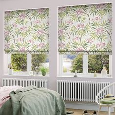 Jemima Summer Roman Blind from Blinds Curtains With Blinds, Wood Pergola, Rose Bedroom, Home Decor, White Roman Blinds, Roman Blinds, Window Roman Shade, White Blinds, Blinds