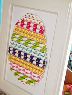 Wrapping Paper Easter Wall Art