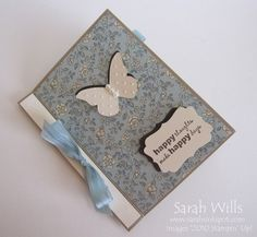 This is a beautiful little scrapbook album featuring pages and pockets for you to decorate, embellish and add photographs to…