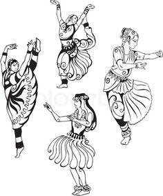 Stock-Vektor von 'Orientalischer Tanz'