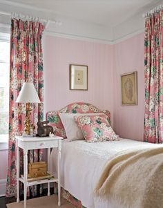 Decorating a Cottage in Pink and Green - Blissfully Domestic