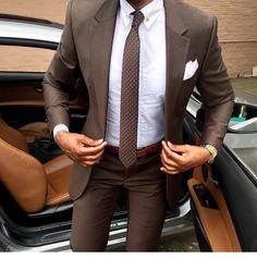 Mens suits combinations brown suit combinations best brown suits ideas on brown suit brown color combinations . Mens Fashion Suits, Mens Suits, Fashion Menswear, Tan Suit Men, Suit Vest, Suit Jackets, Terno Slim, Suit Combinations, Moda Formal