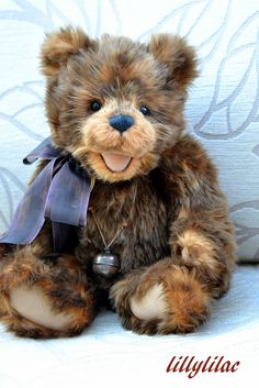 Anyone know this Charlie Bear's name?