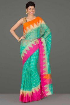 Sheer Elegance: Kota Silk Sarees with Zari | IndiaInMyBag.com
