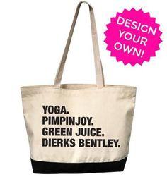 4 THINGS™ Personalized Tote Bag (Custom Pre-Order)