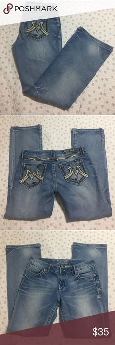 """Miss me Jeans Miss Me, the M series. Size 30, boot cut. Perfect condition. Rise 8"""", inseam 29.5"""". Miss Me Jeans Boot Cut"""