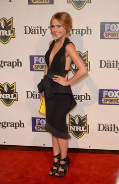 Tessa James Style Icons, Red Carpet, Peplum Dress, Celebrity Style, Celebs, Hair, Black, Dresses, Fashion