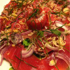 Thai Style Tuna Ceviche Tuna Ceviche, Thai Style, Vegetables, Kitchen, Food, Cooking, Thai Decor, Kitchens, Essen