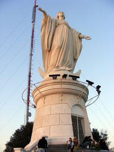 URBATORIVM: FOUNDERIES D'ART DU VAL D'OSNE À SANTIAGO DU CHILI (Parte III) Statue Of Liberty, Chili, Public, Sculpture, Vacation, Places, Travel, Santiago, Blade