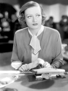 """Joan Crawford as Flaemmchen in """"Grand Hotel"""" (Edmund Goulding, 1932). She's so young!"""