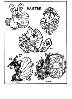 Iris Folding Rubber Stamps (Page