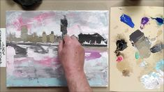 London Bridge, Drawings, Videos, Painting, Art, Art Background, Painting Art, Kunst, Sketches