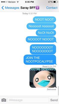 Notice that her friend hasn't responded Pingu Pingu, Funny Laugh, Hilarious, Pingu Memes, Friends Laughing, Clean Memes, Cringe, Dumb And Dumber, Dankest Memes