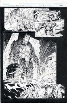 Civil War Initative 1 page 17 by Marc Silvestri  and Joe Weems  Comic Art