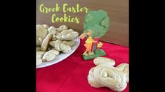Koulourakia Paschalina are Greek Easter Traditional Cookies, which are crispy outside and soft inside, full of orange flavour. Easter Cookies, Easter Treats, Baking Tins, Baking Soda, Easter Videos, Greek Cookies, Greek Sweets, Greek Easter, Easter Traditions