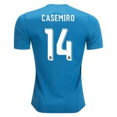 aad3c515e 2017 2018 Casemiro Jersey Number 14 Third Authentic Men s Real Madrid Team  Real Madrid Club