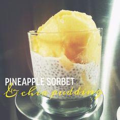 Ananassorbetti & chiavanukas