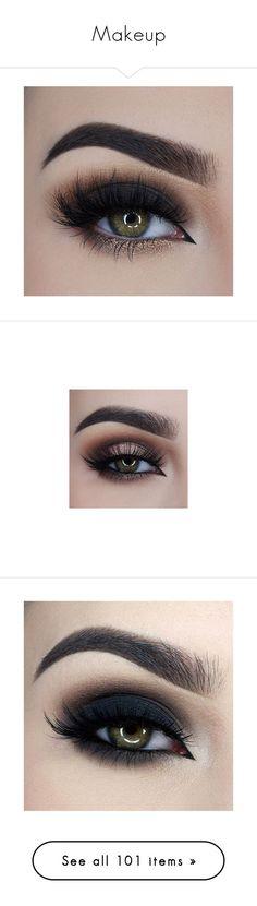 """Makeup"" by princess-kiana ❤ liked on Polyvore featuring beauty products, makeup, eye makeup, eyes, beauty, olho, eyeko cosmetics, eyeko, black and too faced cosmetics"