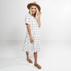 Lena Check Dress – Shop Stevie
