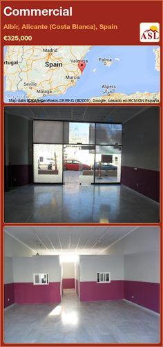 Commercial in Albir, Alicante (Costa Blanca), Spain Alicante, Busy Street, Murcia, Seville, Malaga, Madrid, Spain, Commercial, Sevilla