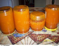 Mrkev očistíme a nakrájíme na kousky, zalejeme sběračkou vody, přidáme nastrouhanou kůru z pomeranče a vaříme doměkka. Pokud je třeb, přilejeme... Baby Food Recipes, Low Carb Recipes, Marmalade Jam, Homemade Jelly, Home Canning, Vegetable Drinks, Healthy Eating Tips, Sourdough Bread, Mushroom Recipes