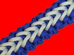 How to make a Crocodile Falls Sinnet Paracord Bracelet Tutorial (Paracor...