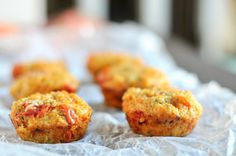 ^ Tomato Basil Quinoa Cups -- use that quinoa you bought but are scared of!  ...    from the creator's pinboard.
