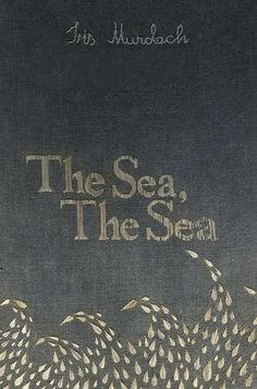 Chloe Giordano's Embroidered Book Covers — The Sea, The Sea