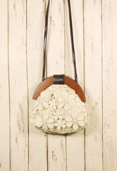 retro bohemian lace bag