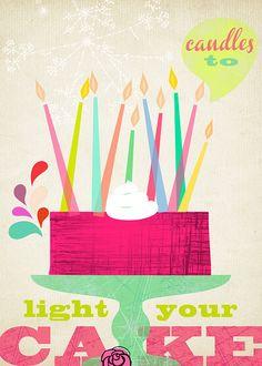 Candeles to light your cake  by Sevenstar aka Elisandra, via Flickr
