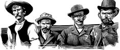 The professional gamblers from the goldfields of California and Nevada's Comstock descended on Tombstone on 1880 and ran full-on into the eastern gamblers led by Wyatt Earp and his brothers. Tombstone Epitaphs, Old West Outlaws, Barbary Coast, Dodge City, Wyatt Earp, Doc Holliday, Virginia City, High Stakes, Opening Night