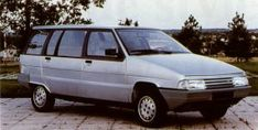 c.1984 CITROEN BX MONOSPACE (MPV) PROTOTYPE - by Carrosserie Heuliez of Cerizay, France.