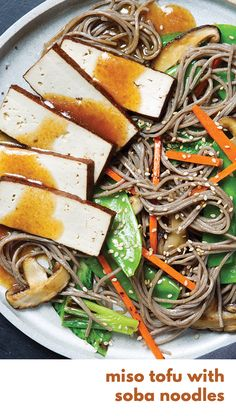 Gobble | Miso Tofu with Soba Noodles | Vegetarian Meals | Meatless Mondays | Fresh & Simple Ingredients | 15 Minute Dinners | Dinner For Two | Meals For The Family | Quick and Easy Recipes | New Recipes To Try | Cook At Home | Fresh Ingredients | What To Have For Dinner | Dinner Recipes | Easy Dinner Recipes | $50 OFF | Food Delivery | Meal Delivery Kit | Home Food Delivery | Gourmet Meals