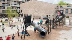 """Phineas Harper on playgrounds: """"Why are children instructed to play in ways predetermined by adult designers?"""""""
