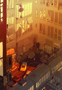 Pascal Campion Late summer in the city
