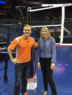 Interview with Good Day Columbus at the 2016 NCAA Volleyball Championship!
