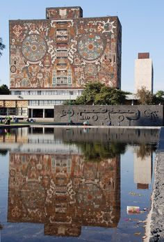 UNAM - why should there be only one picture of a building of such beauty..