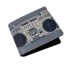 Wallet Ghetto Blaster Boombox Mens/Womens (BB1) by Underground Kulture. $7.75. Limited Edition Wallet. BoomBox. Suitable for Men or Women. BoomBox Style Uni-sex Wallet. This looks great and is this years must have accessory.