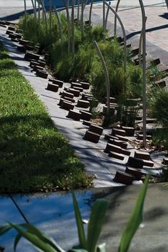 Wonderful paving pattern.  Balfour Street PocketPark by Jane Irwin Landscape Architects (JILA), Australia