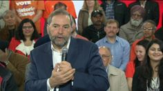 Mulcair touts health plan, says Canada not prepared for 'demographic bomb' - National | Globalnews.ca
